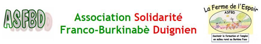 La Ferme De l'Espoir – Agriculture Solidaire par une Formation Burkinabè au Développement